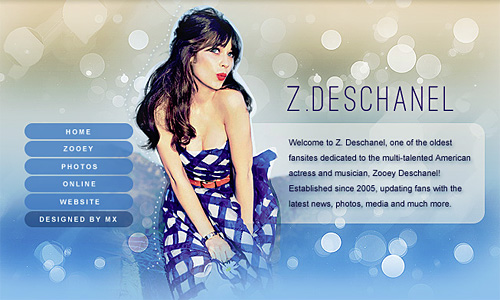 Z. Deschanel by Melodieux